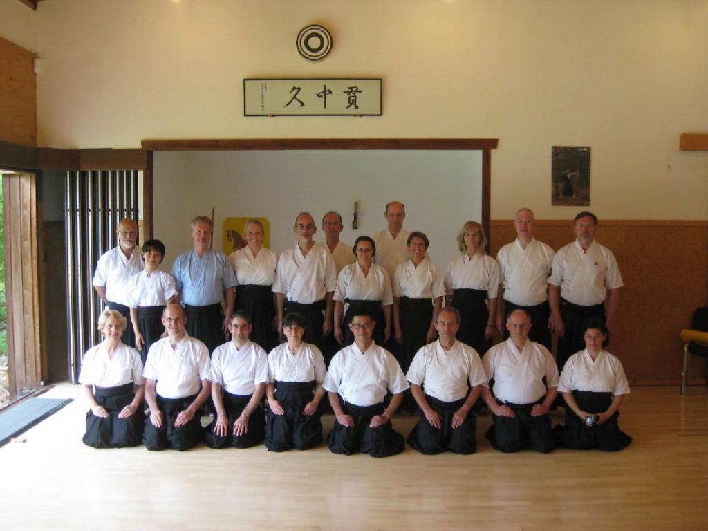 Die Teilnehmer beim Gruppenfoto